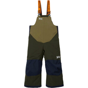 Helly Hansen Rider Insulated Bib Pants Kids, pine green